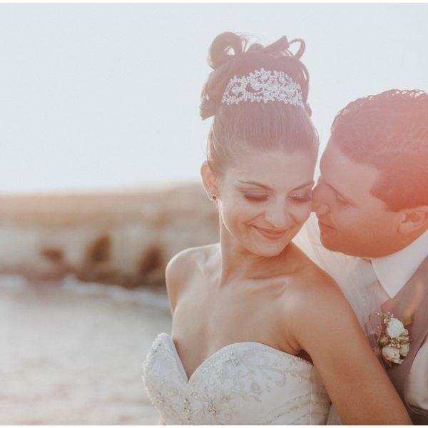 Kathy & Matt - Nissi Beach Wedding