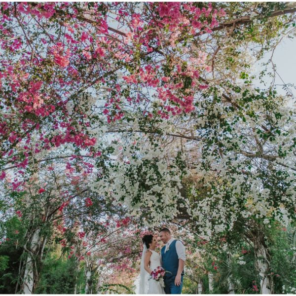 Katie & Stephen - Garden of Eden beach wedding