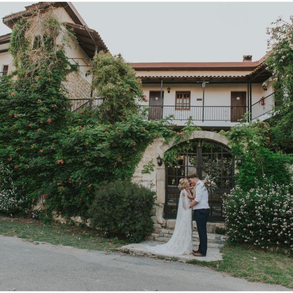Charlotte & Russell - Vasilias Nikoklis Inn wedding