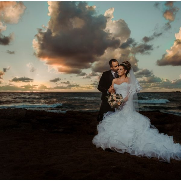 Stacey & Graeme - Athena Beach Hotel Wedding