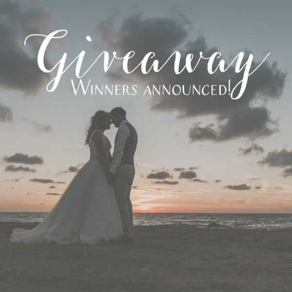 Giveaway winners announced!