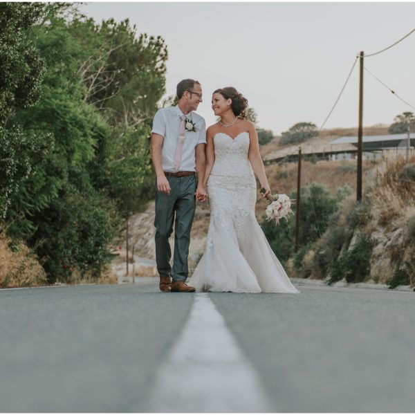 {Sneak peek}  Sarah & Graham - Vasilias Nikoklis Inn wedding