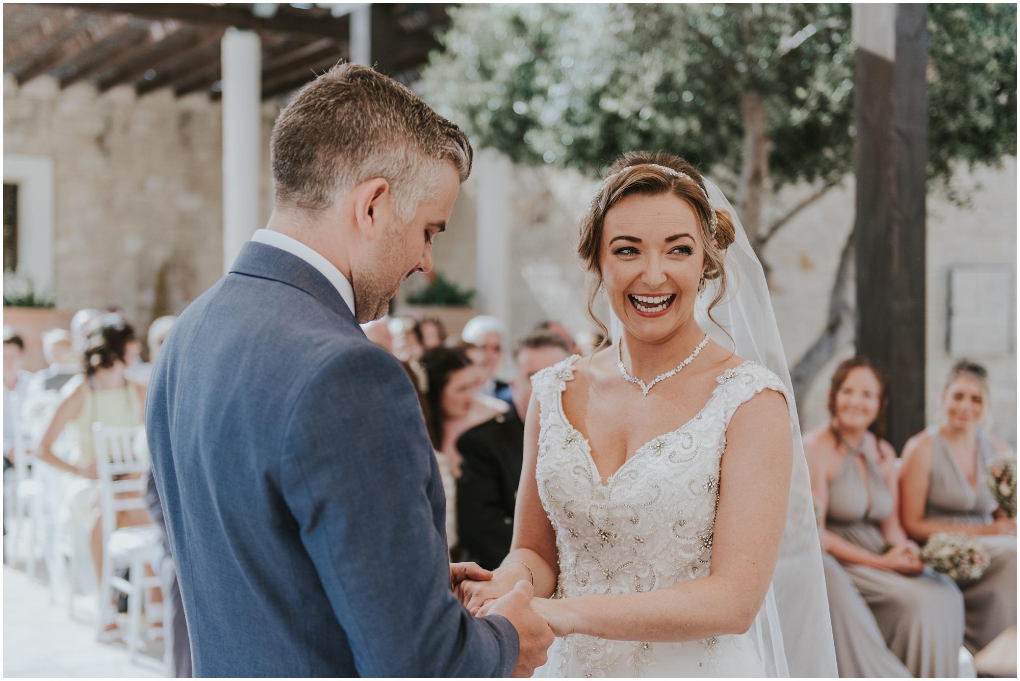 aphrodite hills wedding ceremony