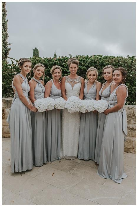 cyprus bridal party