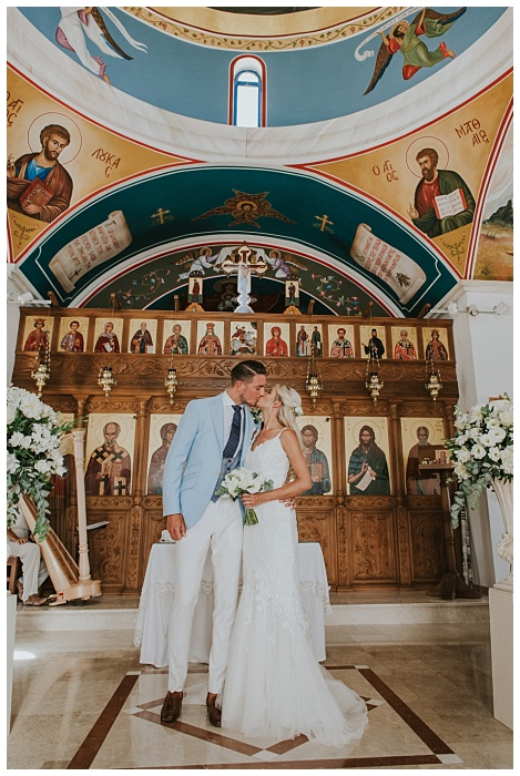 St Nicholas Church Paphos wedding