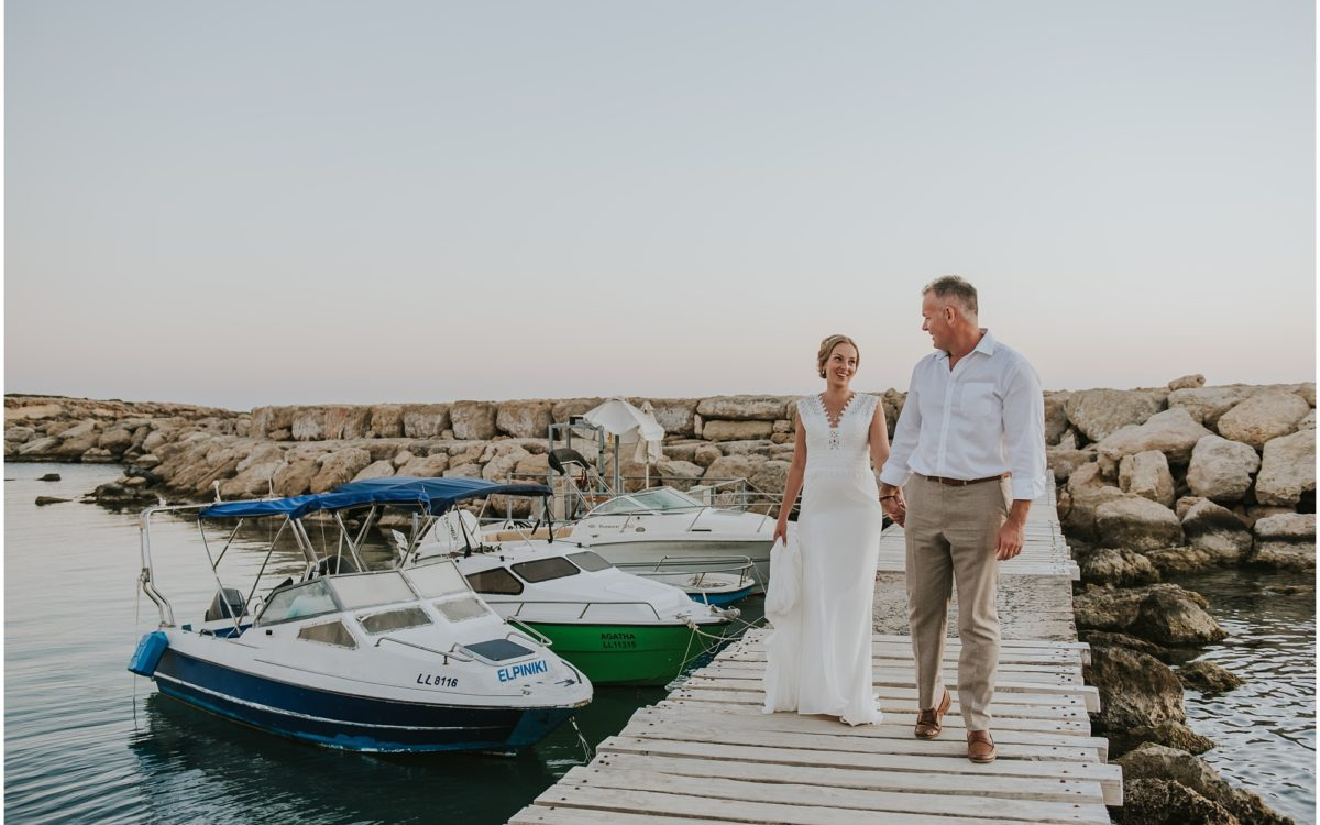 Jessie & Paul - Coral Beach Hotel Wedding