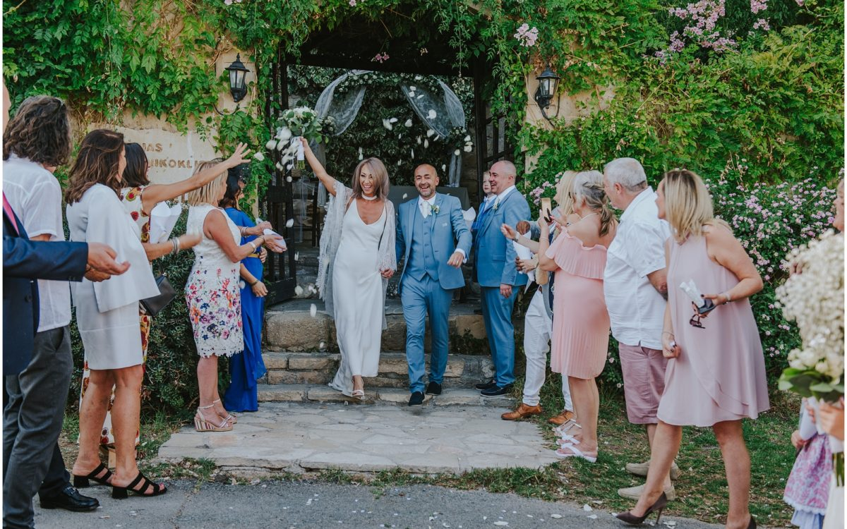 Claire & Paul - Vasilias Nikoklis Inn Rustic wedding