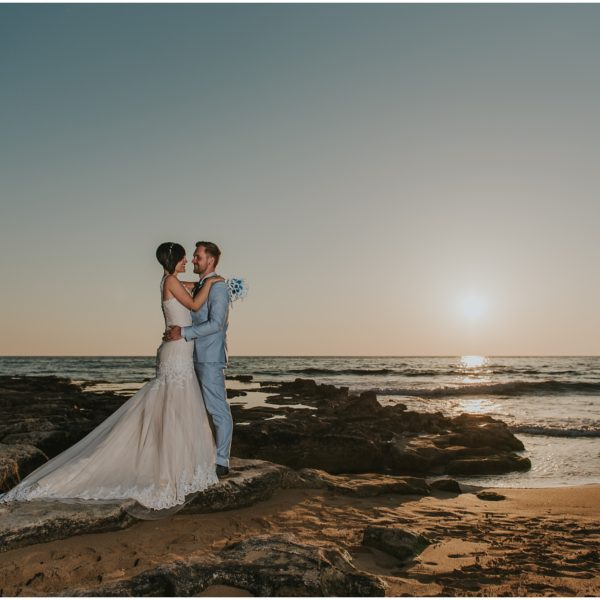 Charlotte & Dan - Pioneer Beach Hotel wedding