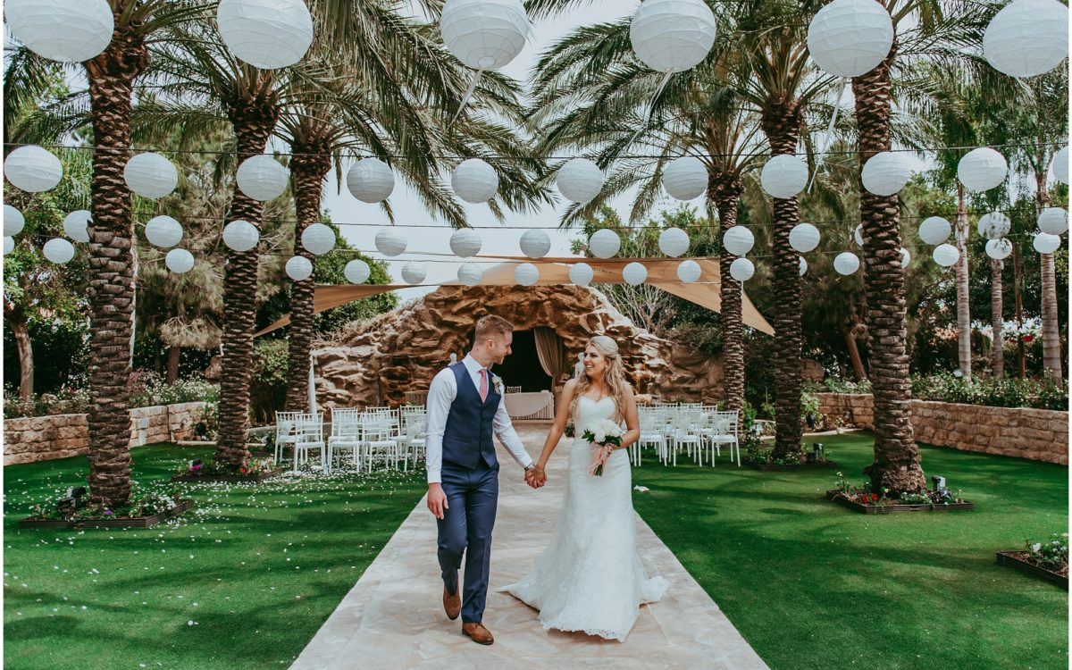 Sophie & James - Olympic Lagoon Ayia Napa wedding
