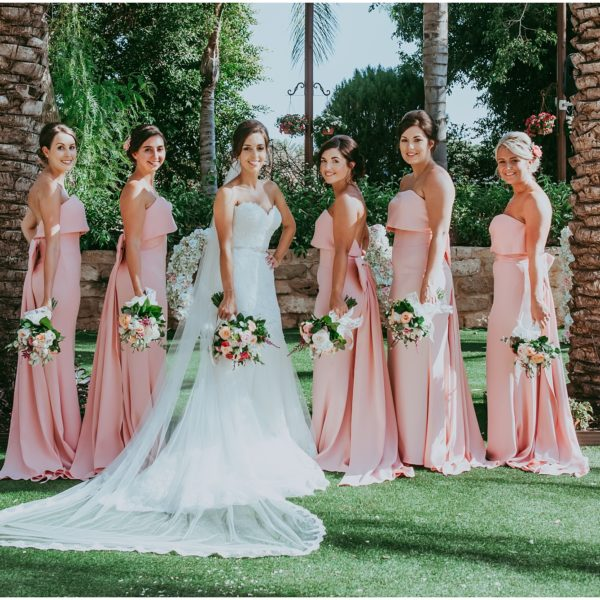 Choosing perfect bridesmaids dresses