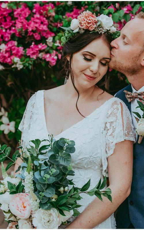 Jess & Tom - A beautiful boho wedding at Vasilias Nikoklis Inn