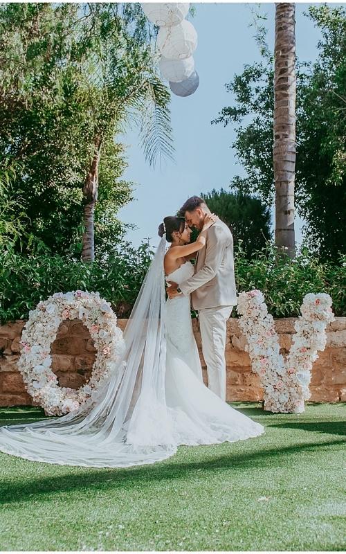 Rebecca & Sam - Olympic Lagoon Ayia Napa wedding