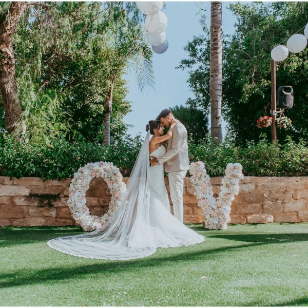 Rebecca & Sam - Olympic Lagoon Ayia Napa wedding